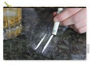 Alcohol And Cocaine Carry-all Pouch