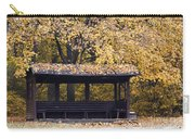 Alcove In The Autumn Park Carry-all Pouch