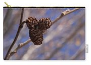 Alder Cones Carry-all Pouch