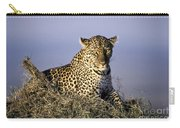 Alert Female Leopard Carry-all Pouch