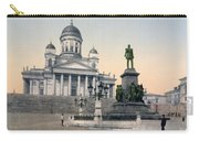 Alexander II Memorial At Senate Square In Helsinki Finland Carry-all Pouch