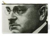 Alfred Adler, Austrian Psychologist Carry-all Pouch