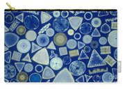 Algae, Fossil Diatoms, Lm Carry-all Pouch by M. I. Walker