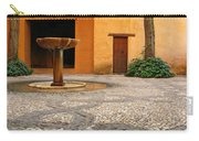 Alhambra Courtyard And Fountain In Spain Carry-all Pouch