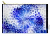 Alhambra Pattern Blue Carry-all Pouch