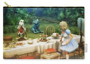 Alice In Wonderland Carry-all Pouch by Jutta Maria Pusl