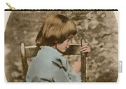 Alice Liddell, Alices Adventures Carry-all Pouch by Science Source