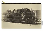 All Aboard Antique Carry-all Pouch