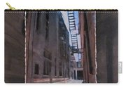 Alley With Fire Escape Layered Carry-all Pouch