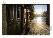 Alley With Sunshine Carry-all Pouch