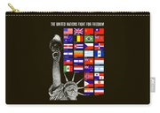 Allied Nations Fight For Freedom Carry-all Pouch by War Is Hell Store
