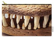 Alligator Skull Teeth Carry-all Pouch