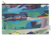 Almost Abstract Painting Carry-all Pouch