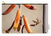 Aloe Flower And Stem Carry-all Pouch