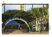 Aloha Tower Carry-all Pouch