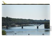 Along The Schuylkill River At Strawberry Mansion Carry-all Pouch
