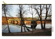 Alongside The Uhlerstown Frenchtown Bridge Carry-all Pouch