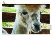 Alpaca Closeup Carry-all Pouch