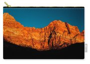 Alpenglow In Zion Canyon Carry-all Pouch