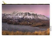Alpenglow Over The Clyde River Carry-all Pouch