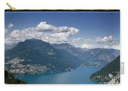 Alpine Lake And Mountains Carry-all Pouch