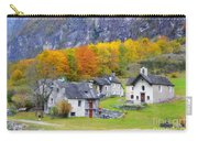 Alpine Village In Autumn Carry-all Pouch
