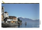 Alpine Village On The Lake Front Carry-all Pouch