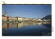 Alpine Village Reflected In The Water Carry-all Pouch
