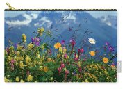 Alpine Wildflowers Carry-all Pouch