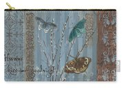 Always Kiss Me Goodnight Carry-all Pouch by Debbie DeWitt