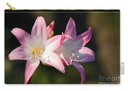 Amaryllis Belladonna Carry-all Pouch