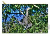 Amazing Heron Carry-all Pouch