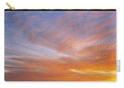 Amazing Sunset Over Pasture Carry-all Pouch