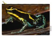 Amazonian Poison Frog Carry-all Pouch