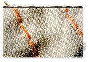 Amber Stitch Study Of Threads Up Close Carry-all Pouch