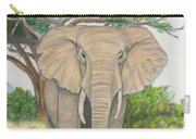 Amboseli Elephant Carry-all Pouch