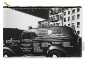 Ambulance, Late 1930s, Nyc Carry-all Pouch