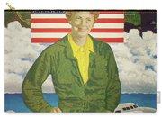 Amelia Earhart Calendar Art Carry-all Pouch