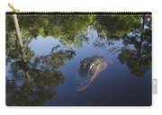 American Alligator In The Okefenokee Swamp Carry-all Pouch