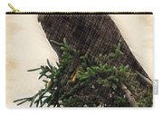 American Bald Eagle In Tree Carry-all Pouch by Dan Friend