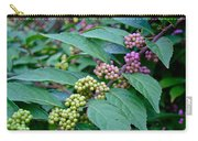 American Beautyberry Shrub - Callicarpa Americana Carry-all Pouch