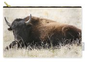 American Bison 2 Carry-all Pouch