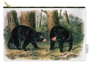 American Black Bear, 1844 Carry-all Pouch