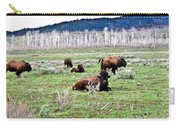 American Buffalo 16 Carry-all Pouch