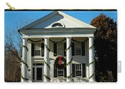 American Colonial Architecture Christmas  Carry-all Pouch