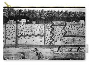 American Farm: Plan, 1793 Carry-all Pouch