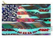 American Flag 2 Carry-all Pouch