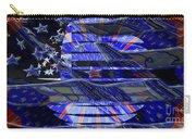American Flag 3 Carry-all Pouch