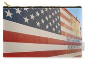 American Flag At Nathan's Carry-all Pouch
