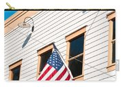 American Flag Carry-all Pouch by Tom Gowanlock